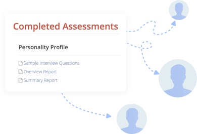 Interview packet to share Hire Success employment tests