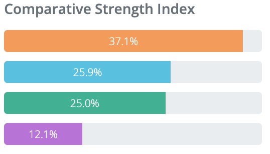 Sample Personality Profile Baseline Summary Report Comparative Strength Index